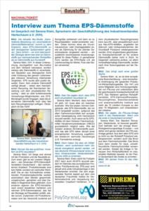 IVH-Geschäftsführerin Serena Klein über EPS & Nachhaltigkeit - im Interview mit BAU