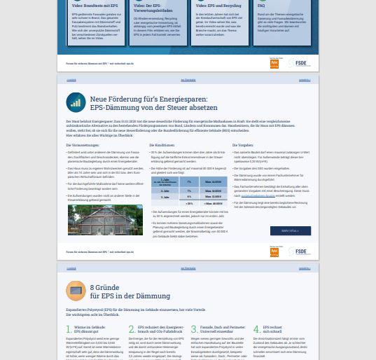 Fragen rund um EPS: Interaktives PDF  - auf einen Klick alle Informationen ausführlich